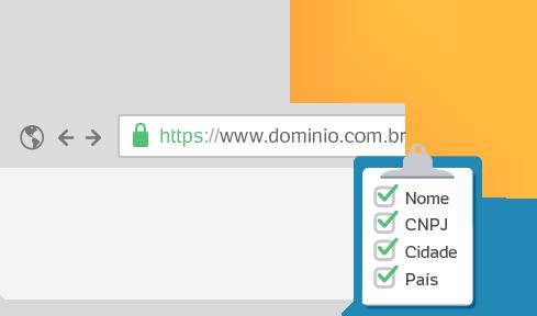Segurança SSL EV para site e sistemas